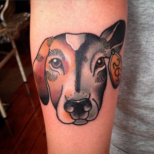 Beautiful Dog Tattoos