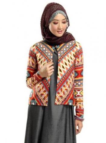 30+ Cardigan Batik Modern Terbaru yang Modis  e5122211ca