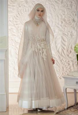 Model Baju Kebaya Syari Untuk Wedding Pernikahan