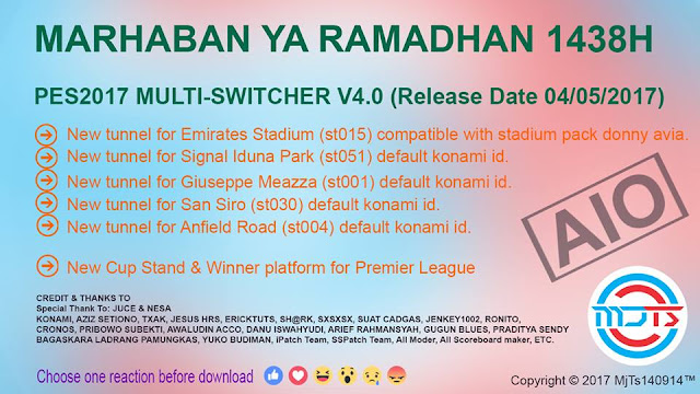 PES 2017 Multi Switcher V4.0 dari MjTs-140914