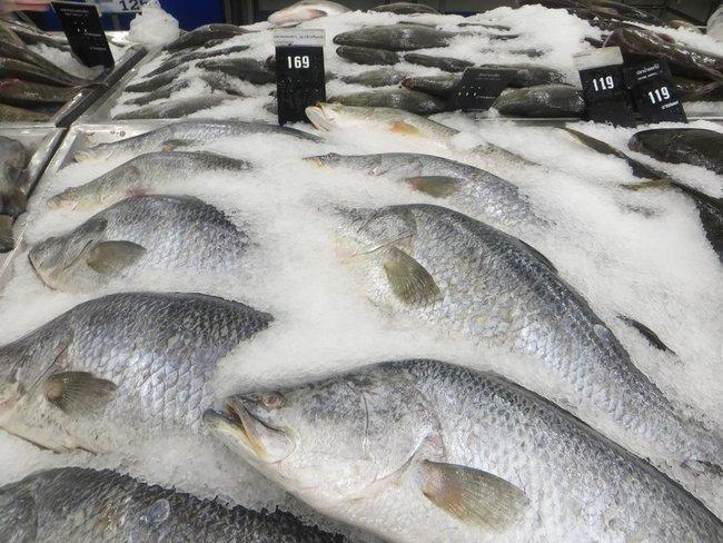 Цены на рыбу в Таиланде