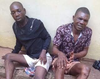 Photo: Police rescue fraudsters from irate mob in Enugu after they posed as Keke driver, passengers and swindled, gang raped a woman