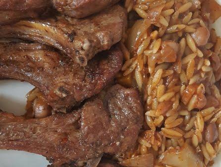 marinierte lammkoteletts indische art