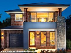 23 Desain Rumah Minimalis Modern 2 Lantai Type 36 dan 45