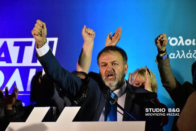 Τ.Χειβιδόπουλος: Το Άργος την Κυριακή γίνεται Δυνατή Πόλη Ξανά -  Κάντε την ψήφο σας οργή και τιμωρία