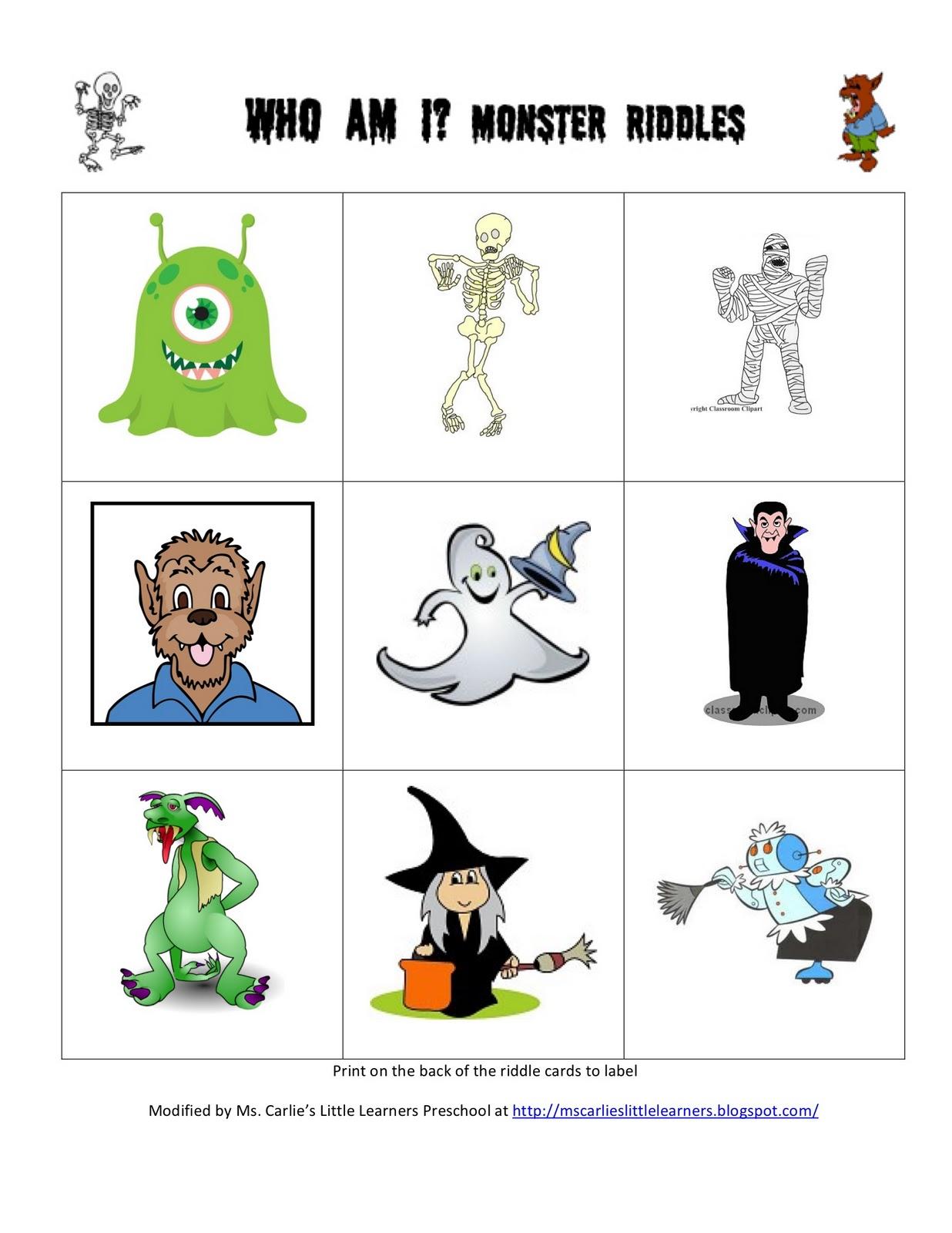 Ms Carlie S Little Learners Preschool Halloween