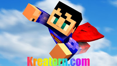 Minecraft Superman Skin