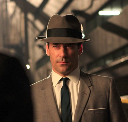 0171253754ac Men in Hats--A Style That Needs to Make a Come-Back. Jon Hamm on