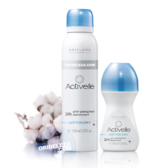 Activelle 24h Cotton Dry da Oriflame