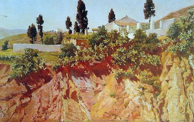 José Nogales Sevilla, Paisajistas españoles, Paisajes de José Nogales Sevilla, Pintor español, Pintores de Málaga