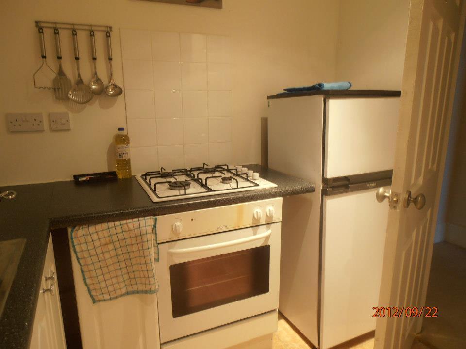 Glasgow-i lakás konyhája