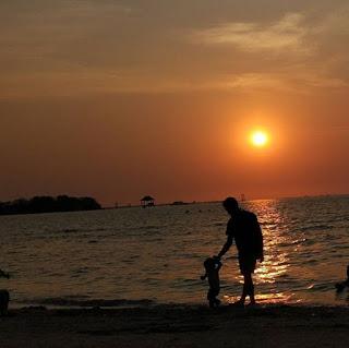 Sunset Pantai Teluk Awur