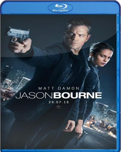 Jason Bourne [2016] [BD25] [Latino]