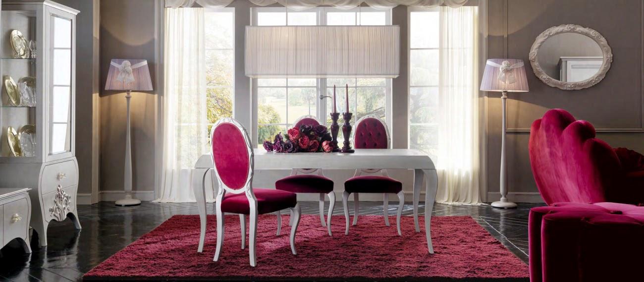 Design interior - Amenajari interioare - Bucuresti - Mobila clasica de lux living dining Italia