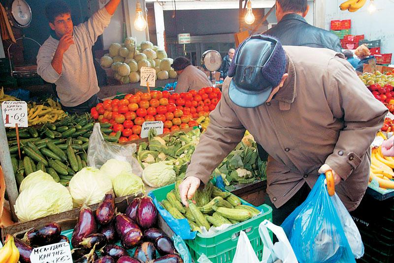 Λειτουργία των λαϊκών αγορών στη Λάρισα λόγω της αργίας των Θεοφανείων