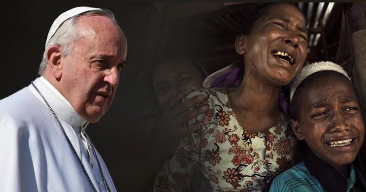 "Paus Gunakan Kata ""Rohingya"" di Publik untuk Pertama Kalinya"