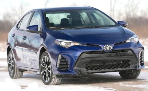 2019 Toyota Corolla SE CVT Rumors