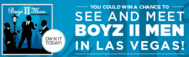 BOYZ II MEN FLYAWAY SWEEPSTAKES