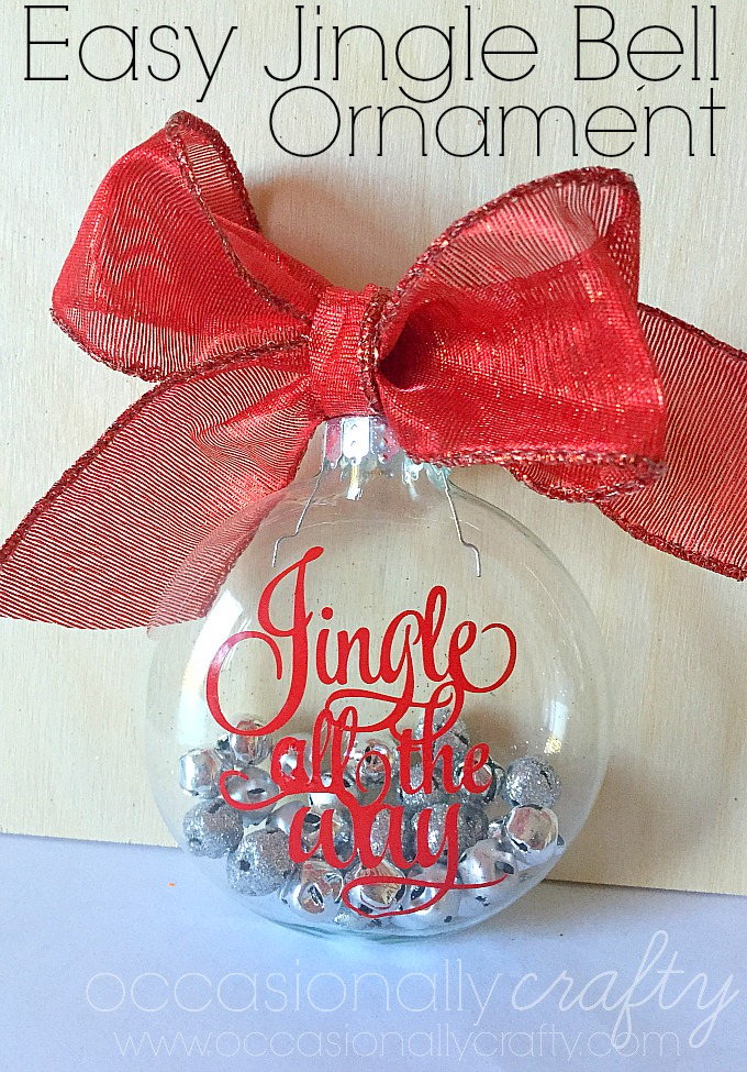 Handmade Christmas Ornaments for neighbor or teacher gifts