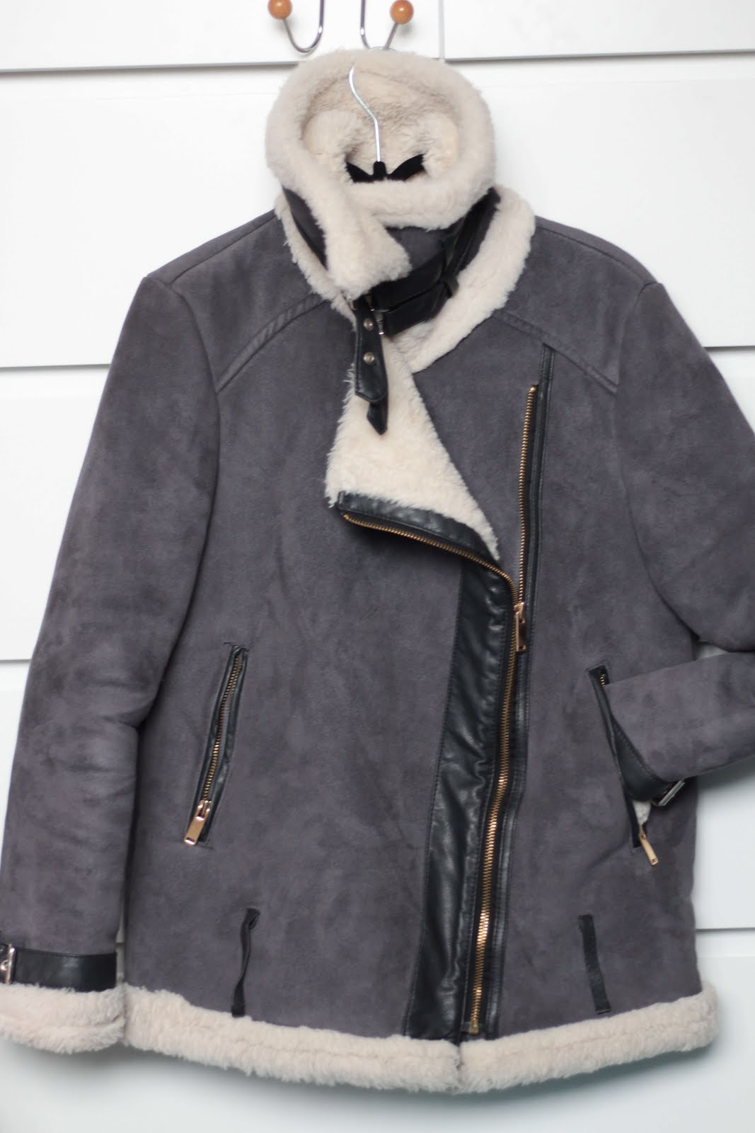 favourite winter items aviator jacket