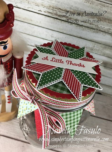 Teachers Gift made using Quilted Christmas Product Suite - Simply Stamping with Narelle - shop here - https://www3.stampinup.com/ecweb/default.aspx?dbwsdemoid=4008228