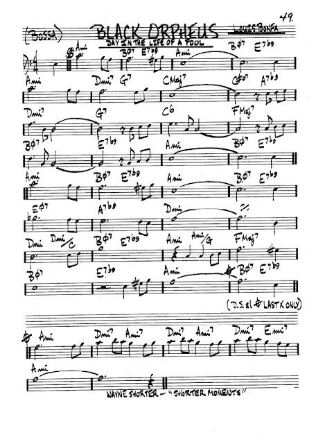 Partitura Violonchelo Louis Bonfa