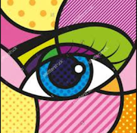 pop art eye