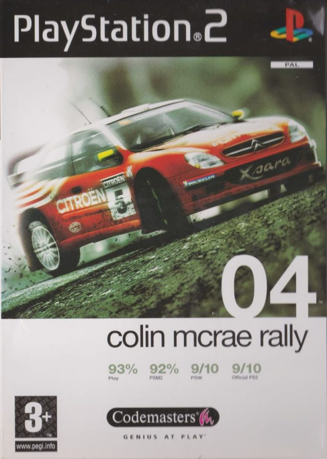 Colin McRae Rally 04 PAL PS2