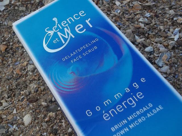Exfoliant visage Gommage Énergie - ScienceetMer