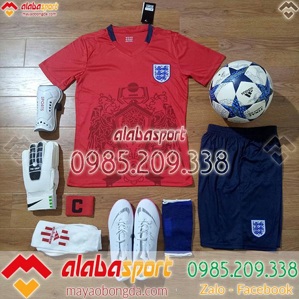 quần áo đá bóng đội tuyển anh đỏ 2018