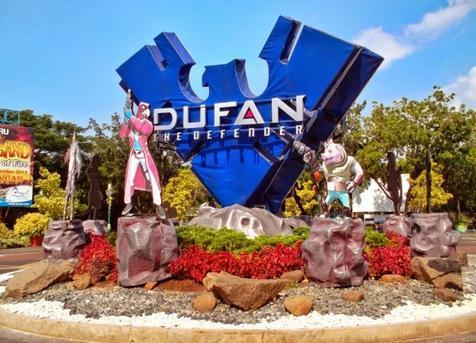 Tempat wisata dufan (dunia fantasi) di Jakarta