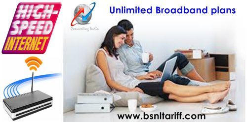 BSNL BROADBAND UNLIMITED PLANS