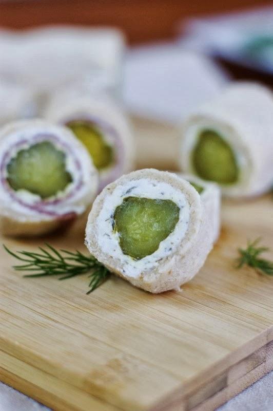 Dill Pickle Bites   www.thekitchenismyplayground.com