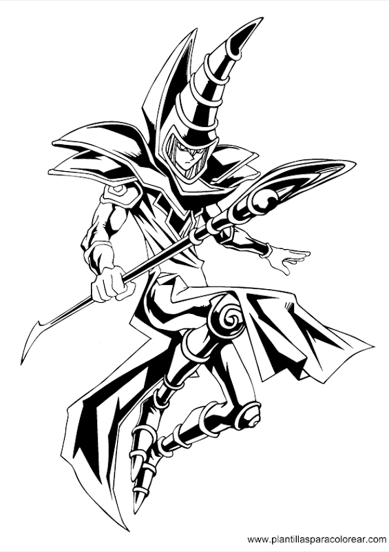 Free Printable Yugioh Coloring Pages For Kids | Monster coloring ... | 800x565