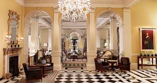 claridge's hotel lobby 5 star luxury