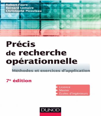 Précis de recherche opérationnelle-PDF