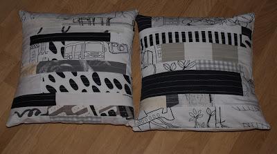 patchworkowe poduszki i podkładki