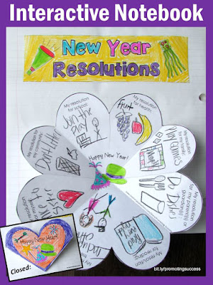 new year's resolutions for kids activities activity