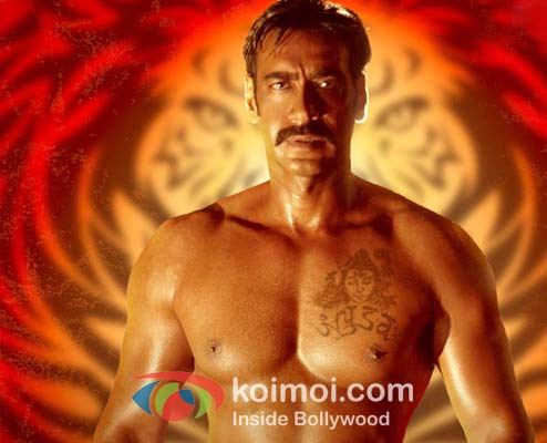 Celebrity Gossip Ajay Devgan Tattoo On Chest