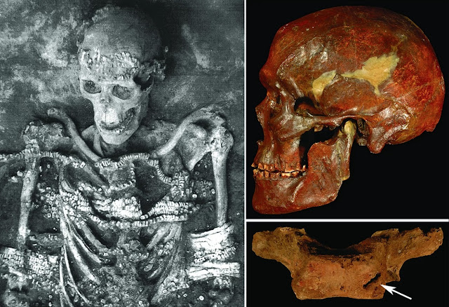 34,000-year-old grave of two boys reveal ancient hunter-gatherers gave them burial fit for royalty