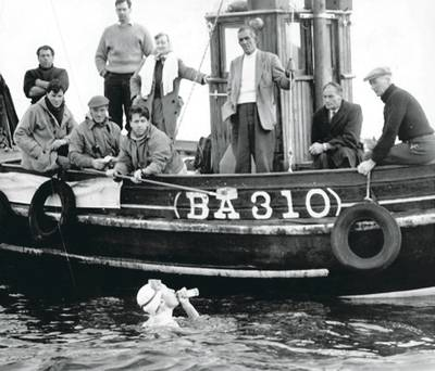 florence chadwick dan kapal