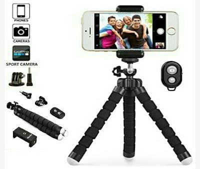 UBeesize Phone Tripod Camera Stand with Wireless Remote