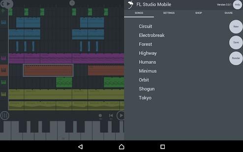 Fl studio mobile full apk data free download