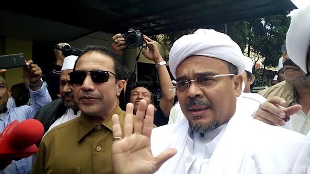 Tunjukkan Ketegasan, Habib Rizieq Ogah Salami Sang Penista Agama dan Penasihat Hukumnya