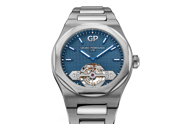 Girard-Perregaux New Laureato Tourbillon