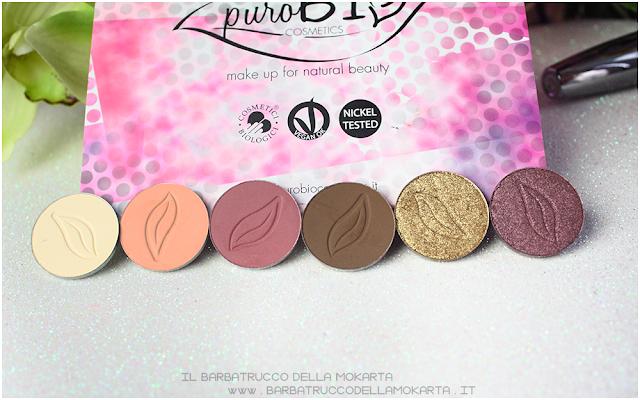 review eyeshadow Purobio Cosmetics