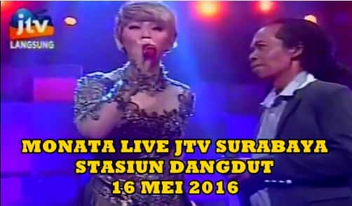 OM Monata feat Inul Daratista live Stasiun Dangdut JTV 16 Mei 2016