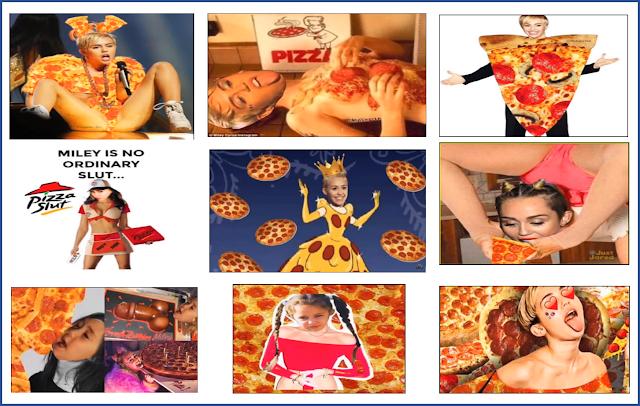 Miley Cirus-pizza gate-instagram miley cirus