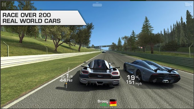 Game Balap Mobil Android Offline: Real Racing 3 Mod Apk