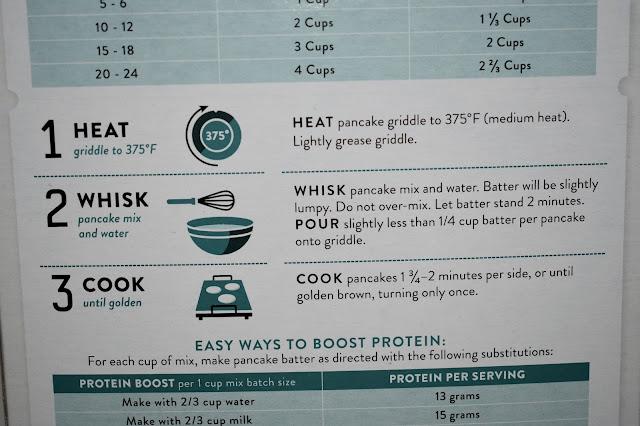 Krusteaz protein pancake donut recipe